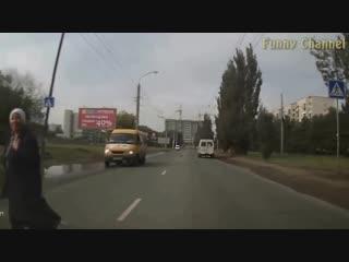 Смешные. необычные дтп _ funny. unusual accident подборка от funny channel.mp4