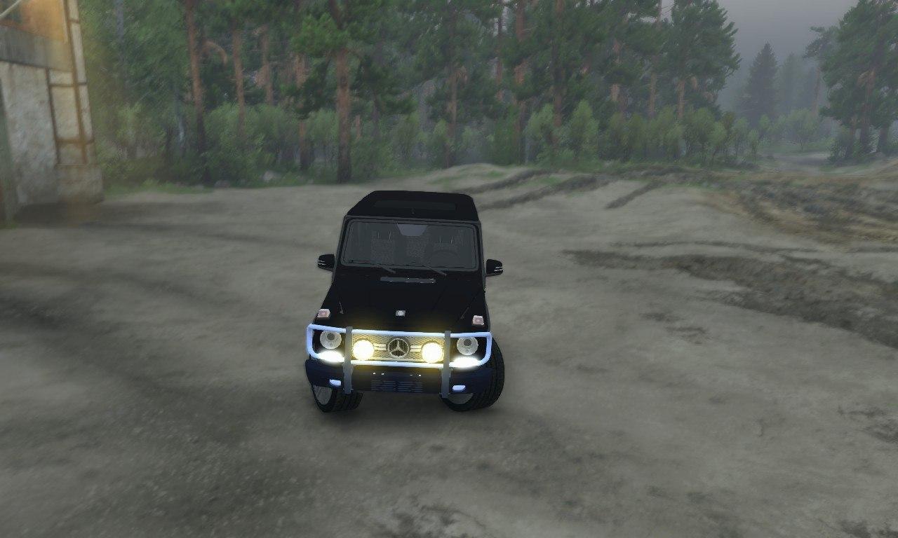 Mercedes-Benz G65 AMG для 03.03.16 для Spintires - Скриншот 1