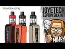 Joyetech ESPION Silk Kit With NotchCore. Интересно и немного непонятно. 🎷🎻🎹🎸