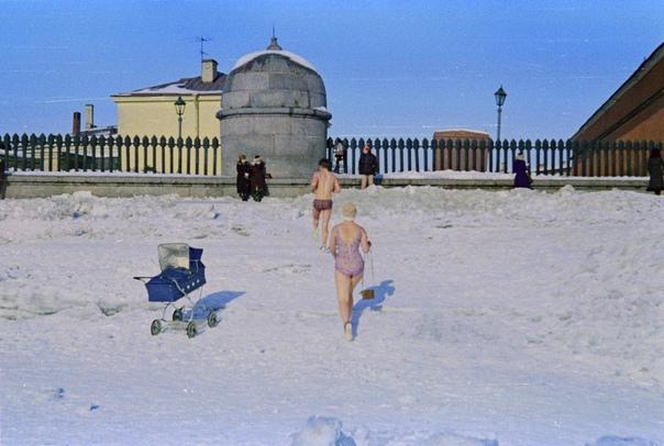 Моржи Ленинграда 1980-е гг.