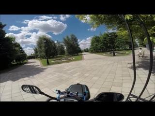 Поездка в «Царицыно» (МТ-85М) ч.5. Скутеры для инвалидов. Mobility scooter.