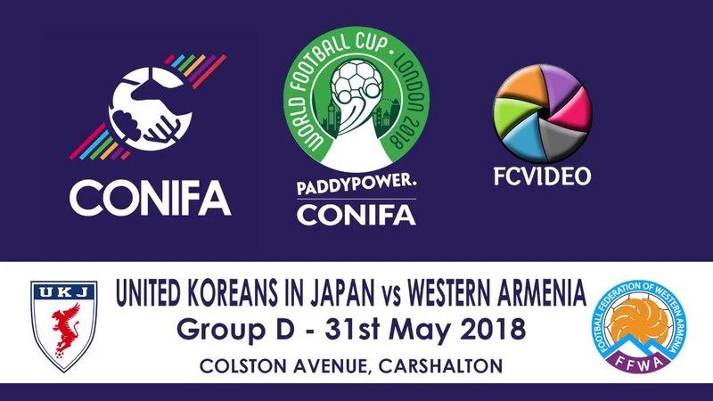 CONIFA Football World Cup 2018 - United Koreans in Japan v Western Armenia