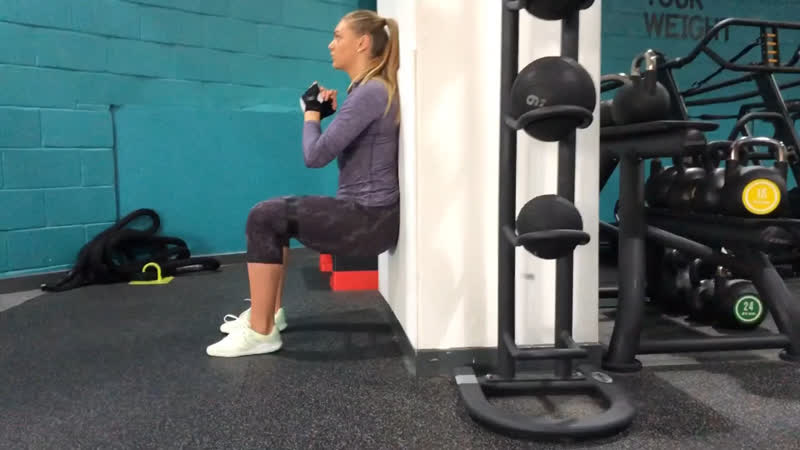Butt training with resistance bands