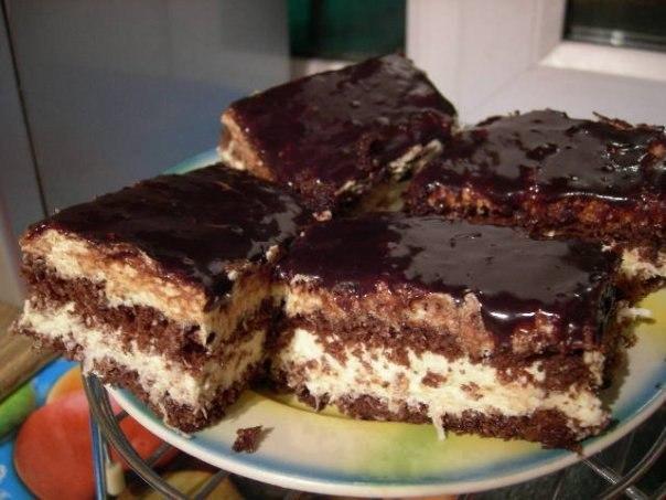 """""""Шоколадно-кокосовый торт"""""""