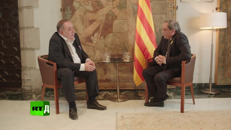 Шоу Алекса Салмонда. Мы хотим самоопределения Каталонии — новый глава правительс