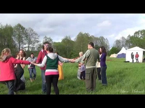 Тренинг, мастер класс по хороводам фестиваль Солнечный круг Минск Май 2015