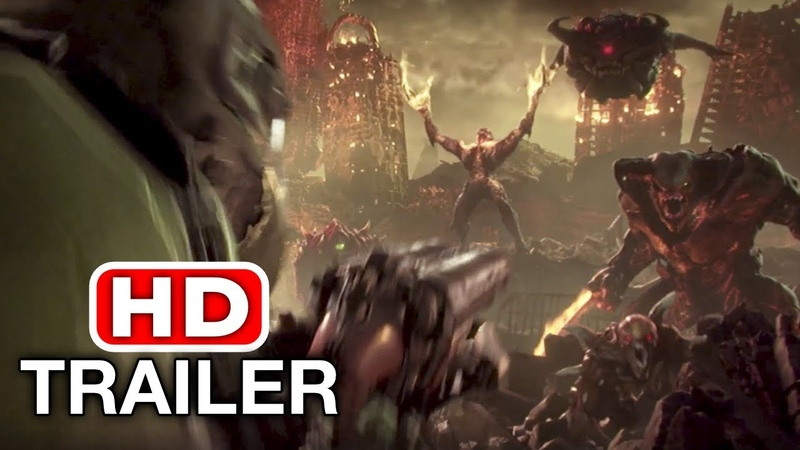 DOOM 5 ETERNAL Trailer (E3 2018) PS4/Xbox One/PC