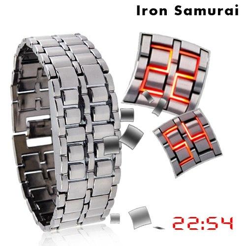 Часы Iron Samurai - часы с потрясающим дизайном и уникальными LED-технологиями! Подберите себе уникальный дизайн —»