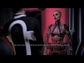 Mass Effect 2 - Sex Scene with Jack (all dialogue options)