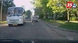 Как в Вологде общественный транспорт ездит по встречной