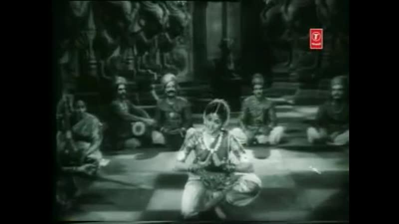 Padmini's Bharatanatyam in Shiv Bhakta 1955 Бхаратанатьям в исполнении Падмини из фильма Шив бхакта Индия 1955