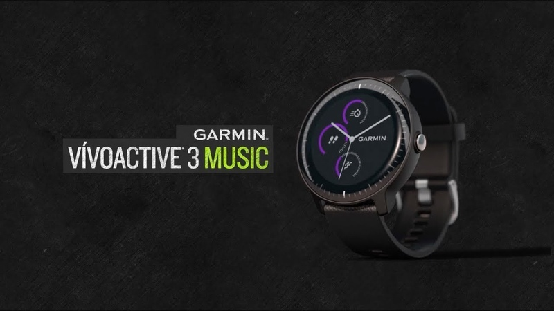 Garmin vívoactive 3 Music: Your Songs on Your Wrist