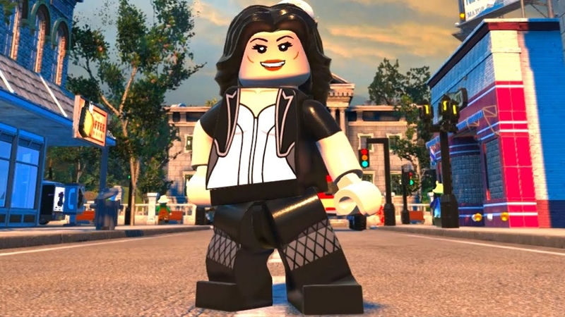 LEGO DC Super-Villains - Zatanna - Open World Free Roam Gameplay (PC HD) [1080p60FPS]