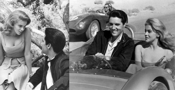 Молоды и красивые Энн-Маргрет и Элвис Пресли в фильме «Да здравствует Лас-Вегас!». 1964 год