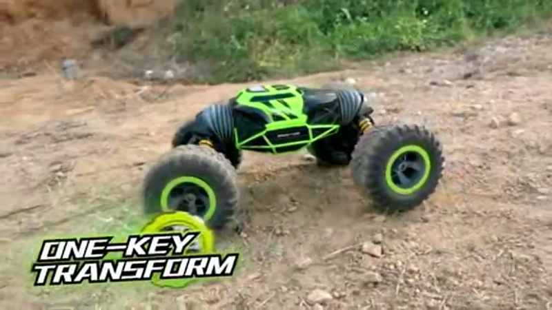 Varanid BigFoot 1 10 Scale Double sided RC Car Transformation