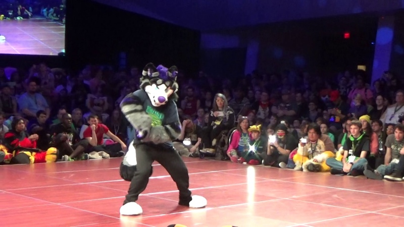 FWA 2017 Fursuit Dance Competition - Darky Pup (me)