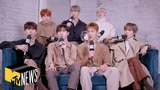 MONSTA X Talk Avengers, Common Misconceptions, &amp More In 'Dive In' MTV News