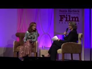 SBIFF 2017 - Isabelle Huppert Discusses Elle Paul Verhoeven | Изабель Юппер