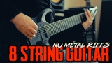 Nu Metal Riffs - 8 String Guitar