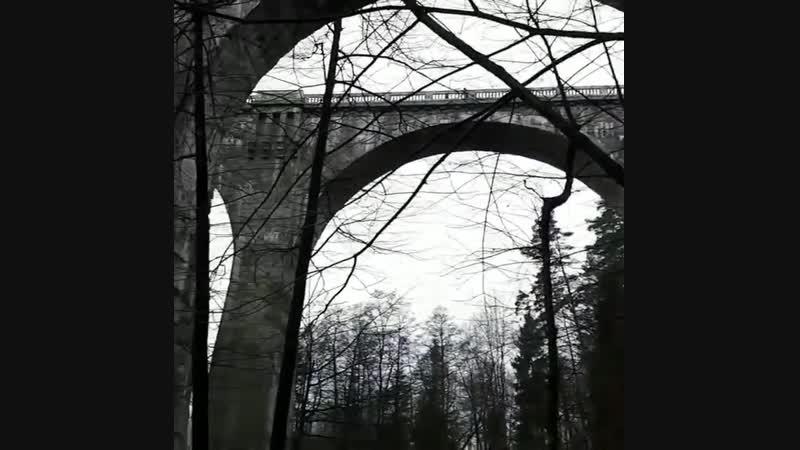 СОСЕДИ | Польша. Конечно фото, да и видео не передаст той колоссальности сооружений этих двух мостов. Особенно если учесть что и