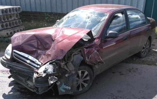 ДТП в Мичуринске: экскаватор, иномарка, пострадавшие