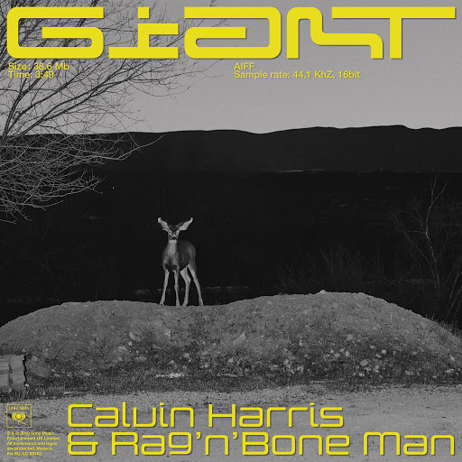 Calvin Harris альбом Giant