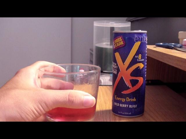 TPX Reviews - XS Energy Drink (Wild Berry Blast)