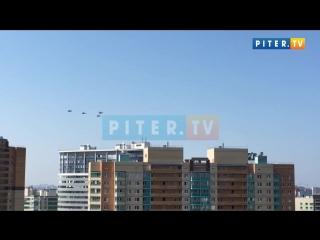 Военные вертолёты над Кудрово