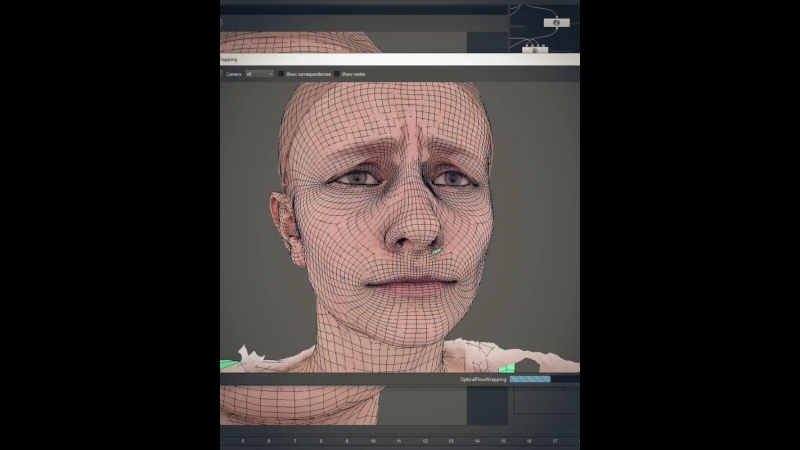 First stages of FACS-based facialRig production for Relicts - scanning and wrapping. Follow us @relicts_movie