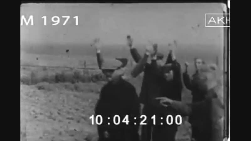Киносъемка солдат 20 моторизованной дивизии 20 Infanterie Division mot в июне июле 1941 года на территории Белоруссии и См
