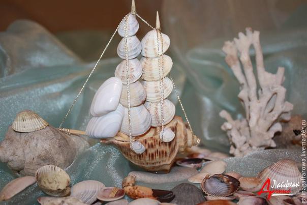 Ракушки как материал для создания декоративных предметов в доме