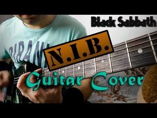 Black Sabbath - N. I. B. Guitar Cover