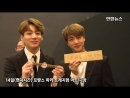 Jinkook look so happy with their signed watches from the president -
