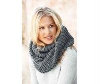 В мире моды такой шарф имеет название снуд, а в народе его называют шарф-хомут.  Эта деталь одежды подойдет тем, кто.