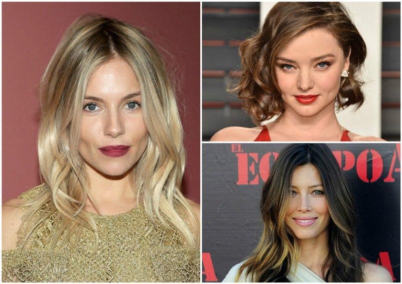 Эффект худого лица: 8 причесок, которые визуально стройнят лицо ...