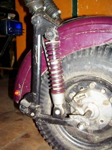 Трицикл, из мотоцикла Тула