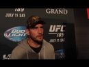 Interview with Cm Punk at UFC 189