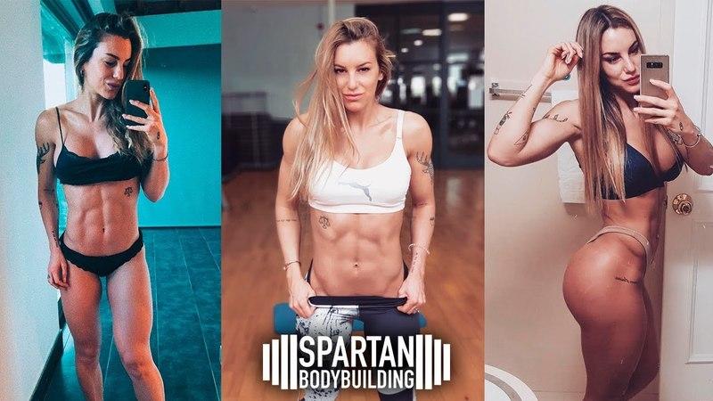 Veronica Costa training triceps abs | Spartan Bodybuilding