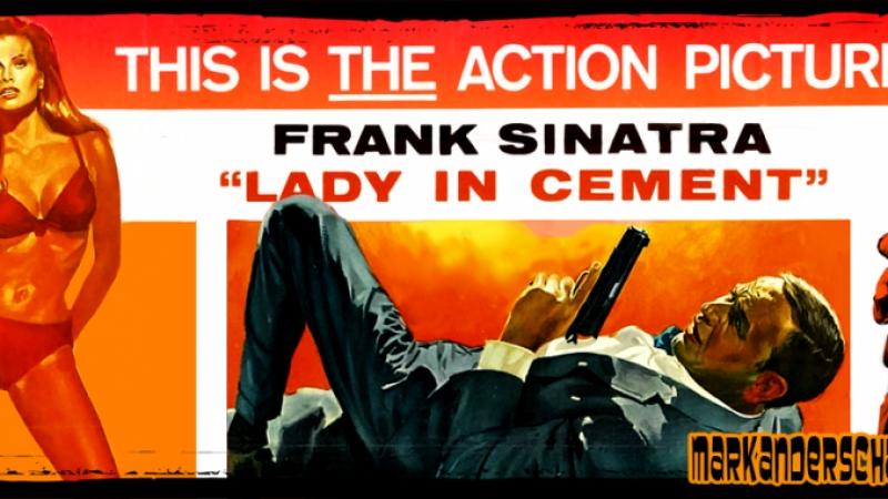 Леди в цементе 1968, США, криминальная комедия