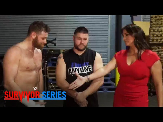 Owens Zayn consider a move to Raw after a backstage meeting with Stephanie McMahon: Nov. 19, 2017