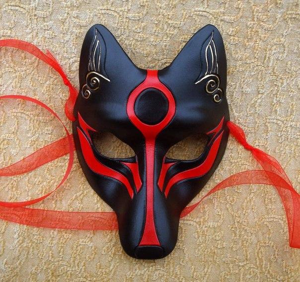 Как сделать маску fox