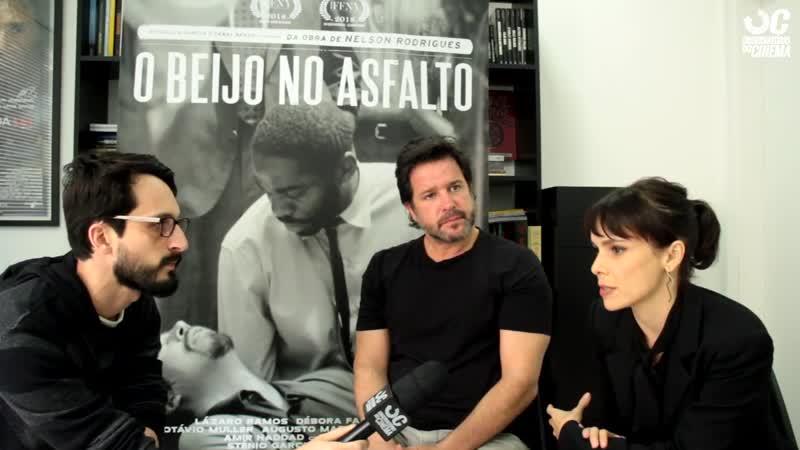 Поцелуй на асфальте - интервью Деборы Фалабеллы и Мурило Бенисио
