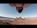 Wingsuit Flyby 100mph
