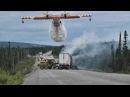 Противопожарная авиация Профессионалы в действии Fire Fighting Airplanes in Action Compilation
