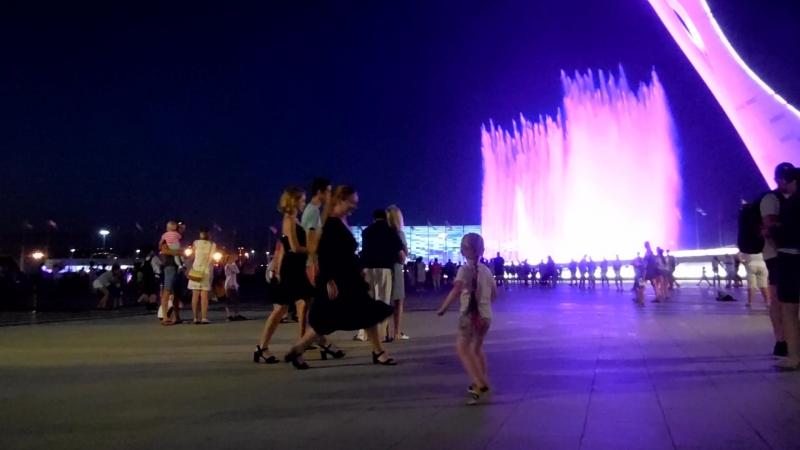 Сочи, Олимпийский парк. Танцуем, как умеем)