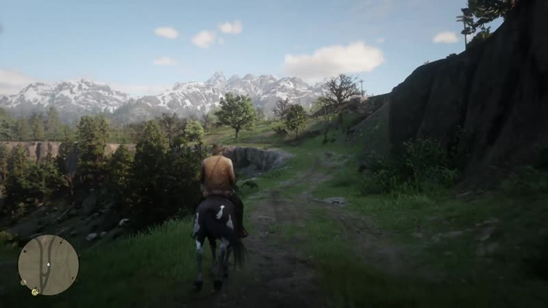 Arthur randomly singing on horseback. First time ive heard this in my 200 hours of playing. Red Dead Redemption 2