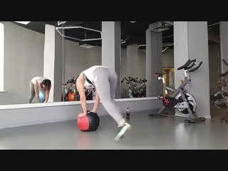 Тренировка с мячом