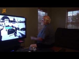 Злой дед подсел на GTA V
