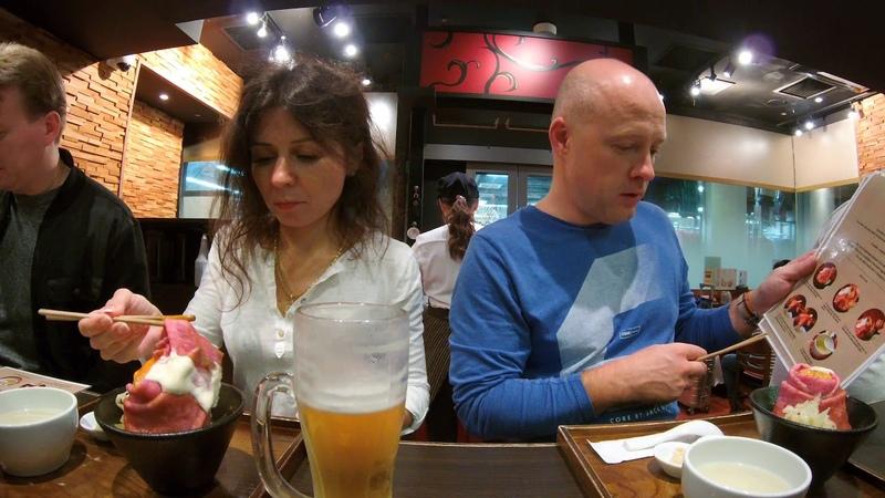 ДИКАРЯМИ в ЯПОНИЮ! Часть 8 Вечер в Токио [4kUHD]