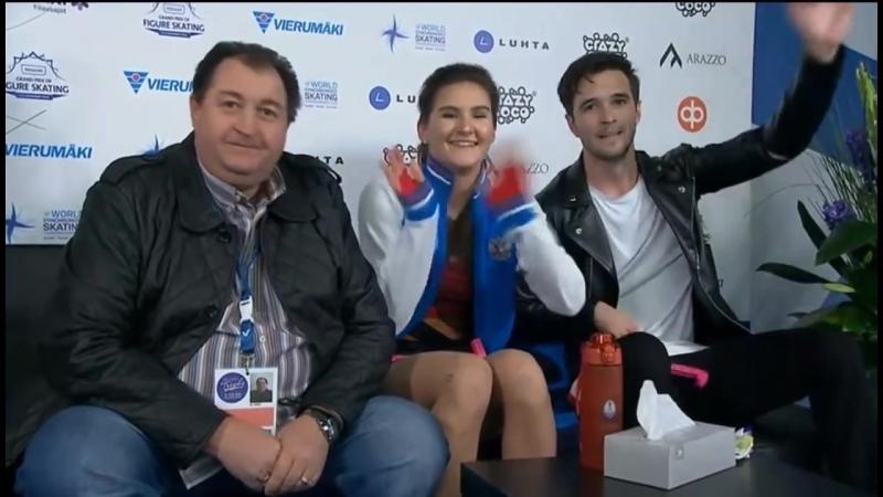 Софья Евдокимова Егор Базин - РТ. Finlandia Trophy 2018
